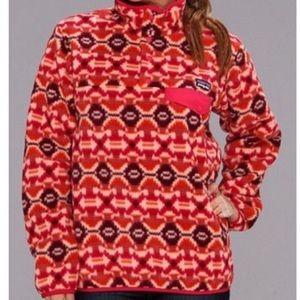 Patagonia Synchilla Women's Aztec Pullover Sz LG